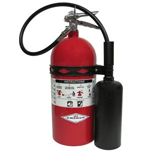 Amerex 330, 10lb CO2 BC Fire Extinguisher