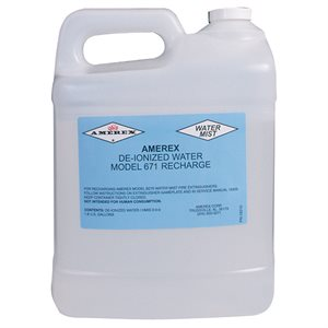 Amerex 671-2, 2.5 Gallon Deionized Water Mist Fire Extinguisher Refill Charge