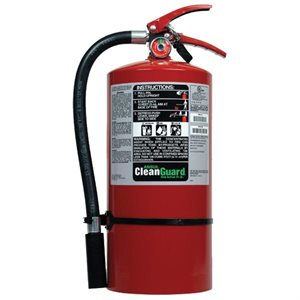 Ansul 429021, Sentry 9lb CLEANGUARD Model FE09 Clean Agent Fire Extinguisher