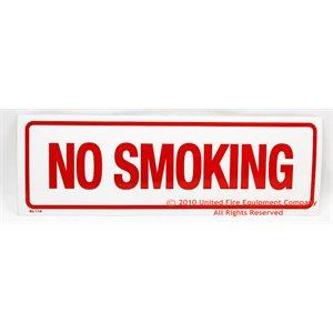 Sign,Vinyl,No Smoking,12x4