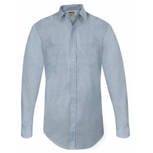 LIGHT BLUE LONG SLEEVE SHIRT WITHOUT NAME AND BADGE TABS